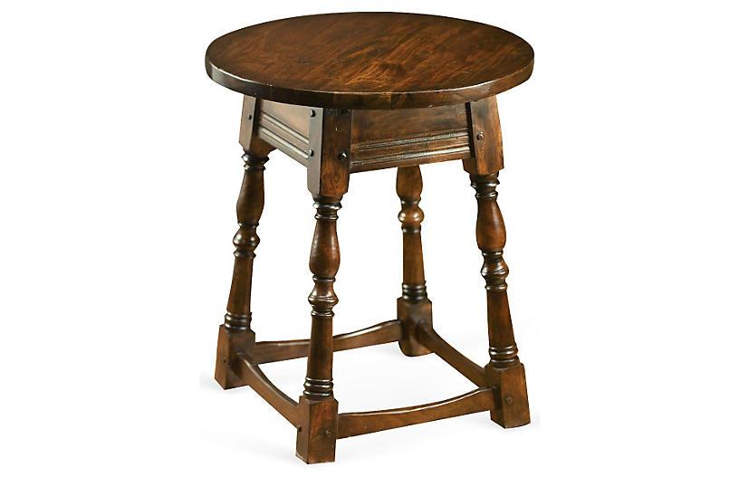 Hallis Side Table, Walnut