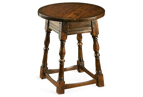 Halls Side Table, Walnut