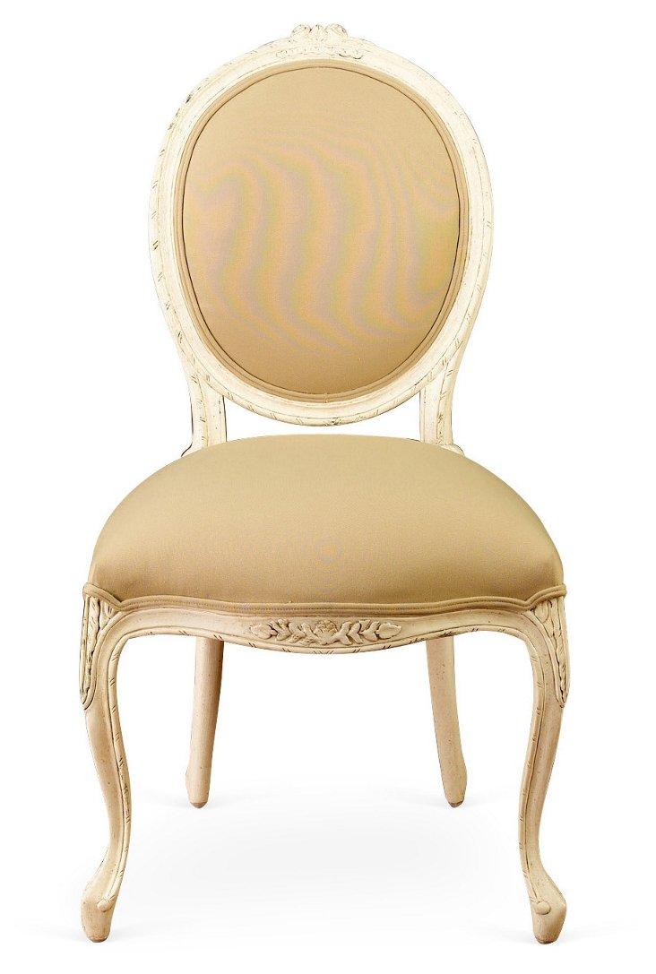 Foster Linen Side Chair