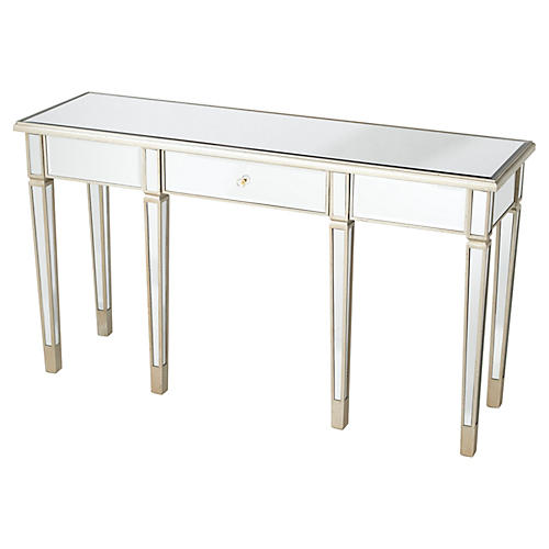 Florence Console, Mirrored