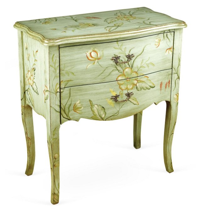 Bohan Chest, Light Green/Multi
