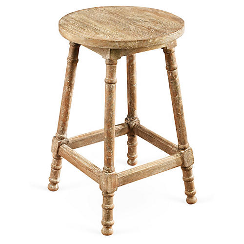 Laird Counter Stool, Weathered Sand