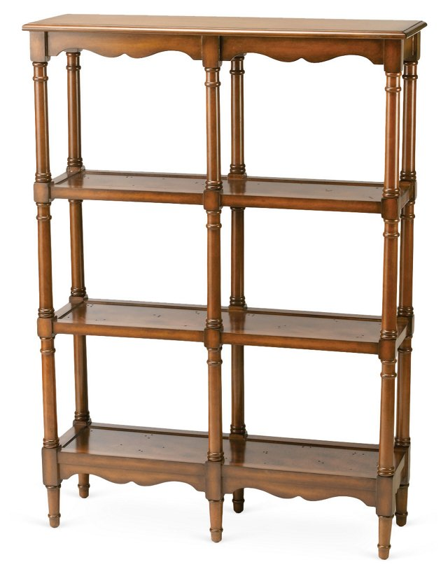 Ginevra Shelf, Walnut