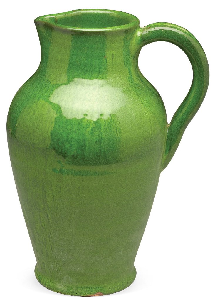 """11"""" Stoic Green Pitcher"""