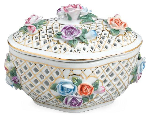 """8"""" Floral Potpourri Box"""