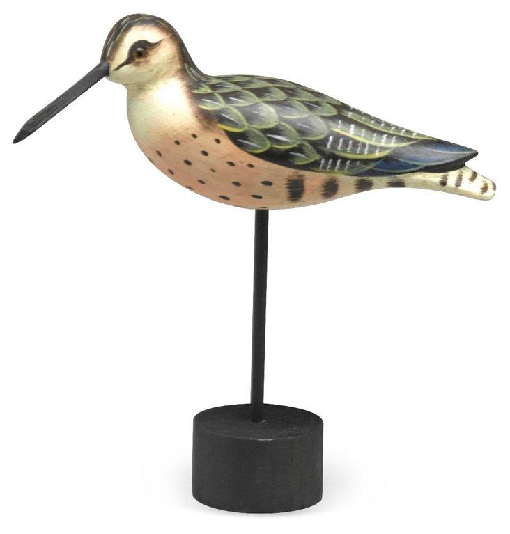 "9"" Bird Decoy on Stand"