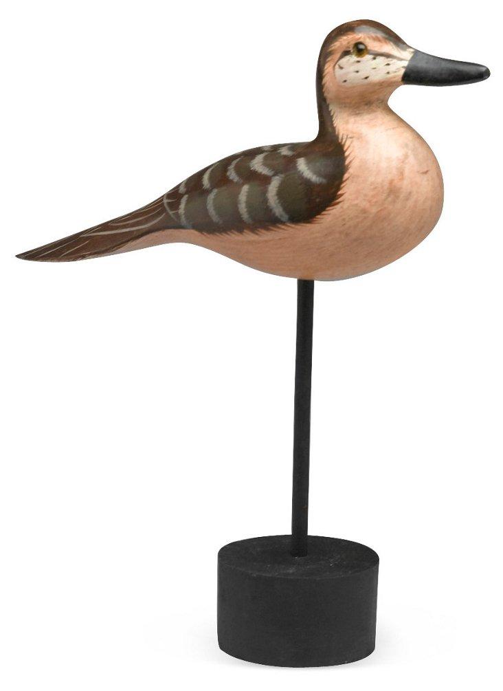 "10"" Bird Decoy on Stand"