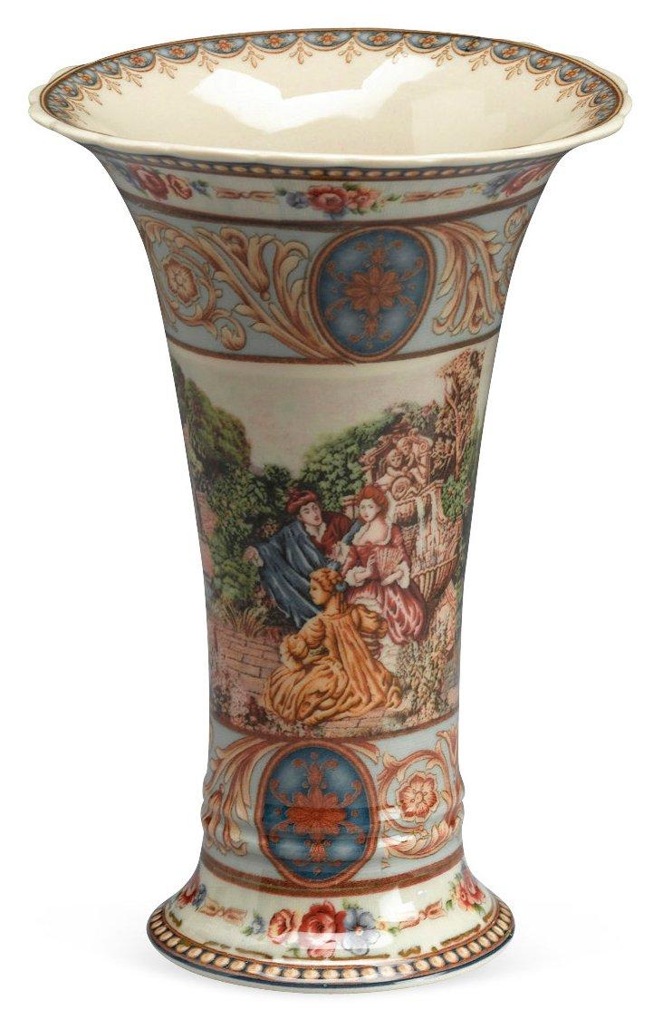 Romance Scene Vase