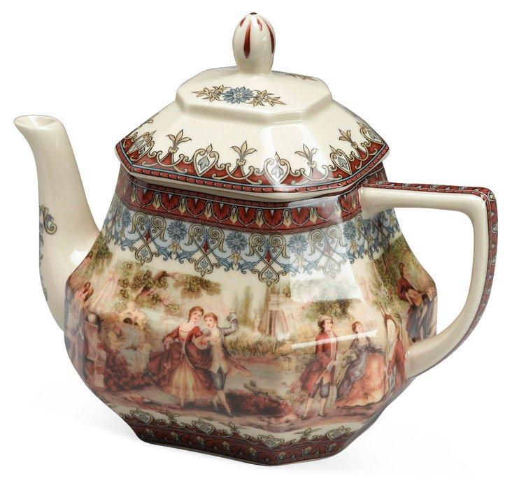 Romance Scene Teapot