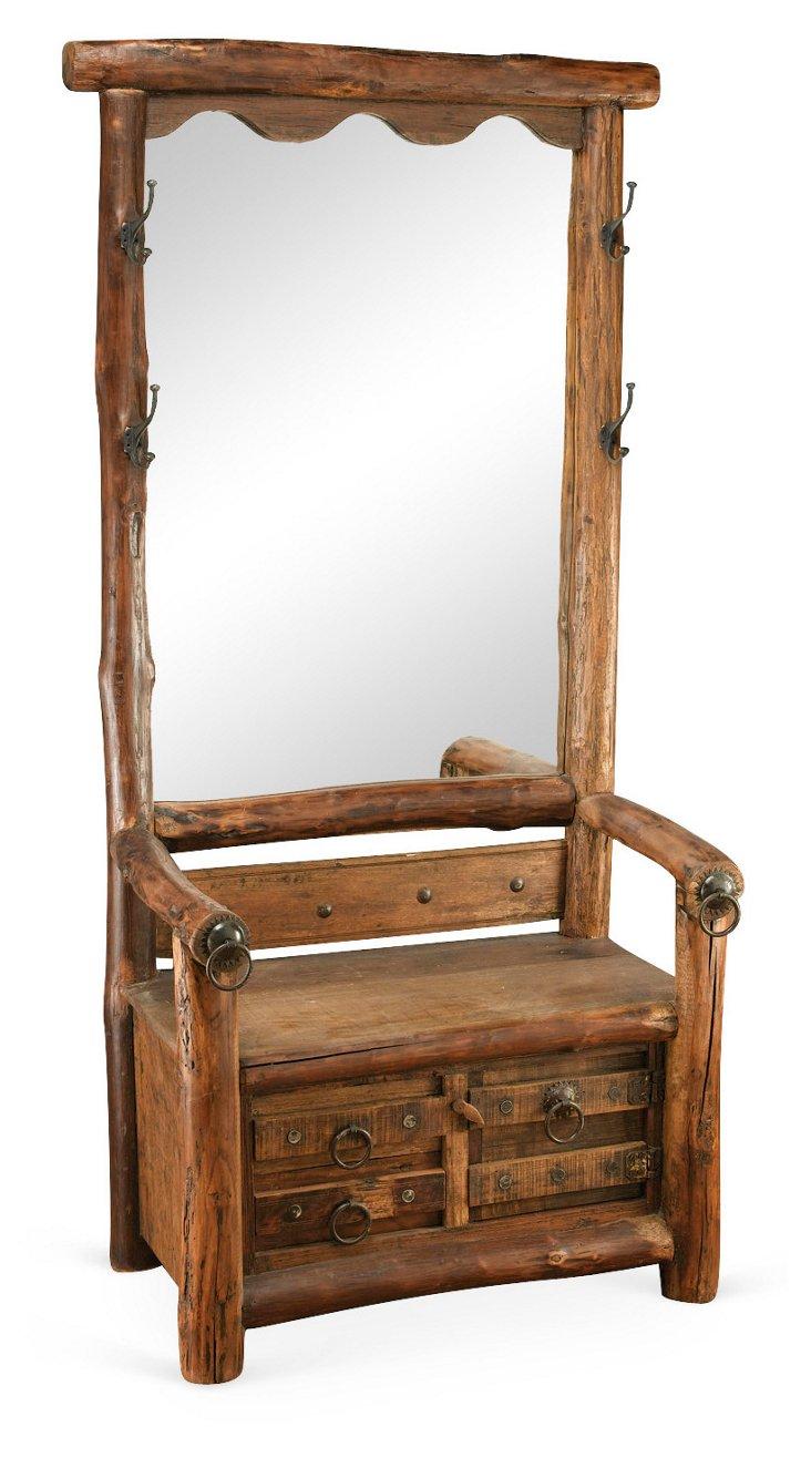 Claire Hall Seat, Honey