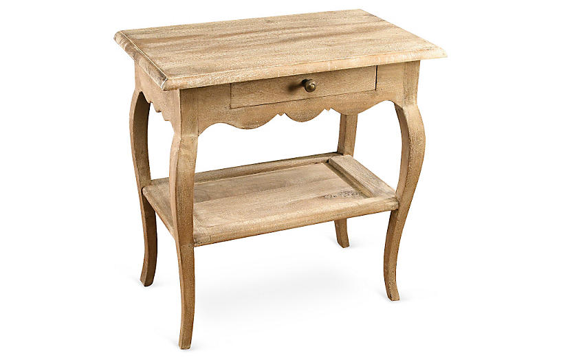 Colette Nightstand, Natural