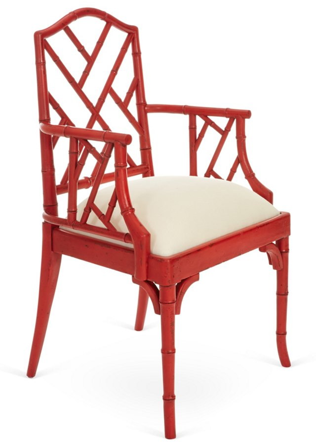 Pippa Armchair, Red