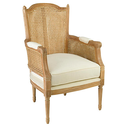 Noreen Accent Chair, Natural