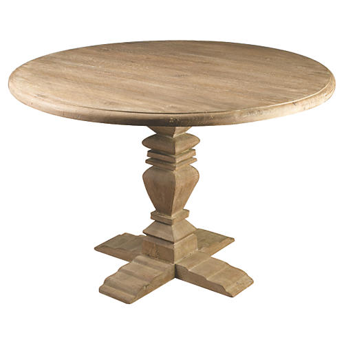 Diana Dining Table, Weathered Sand