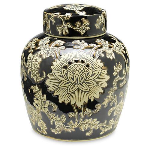 """9"""" Florent Jar, Black/Cream"""