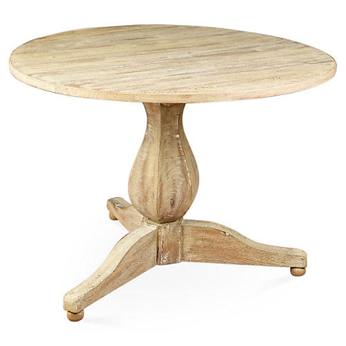 "Corbett 42"" Round Dining Table, Natural"