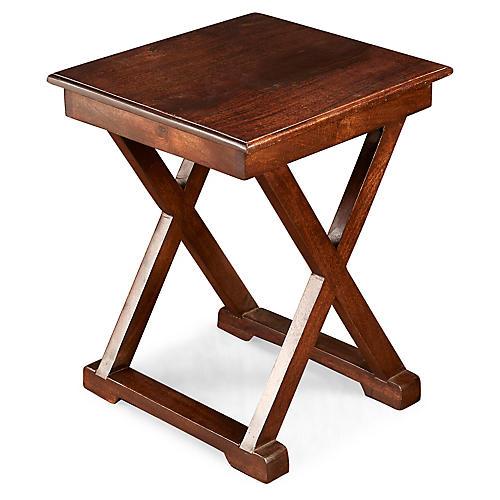Oliver Side Table, Pecan