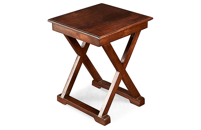 Oliver Side Table, Pecan