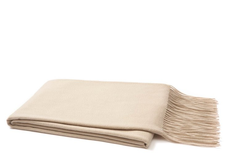 Cashmere Throw, Eco