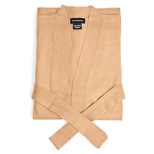 Cashmere-Blend Pajamas, Sand