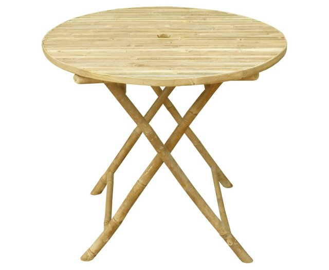 Outdoor Round Folding Bistro Table
