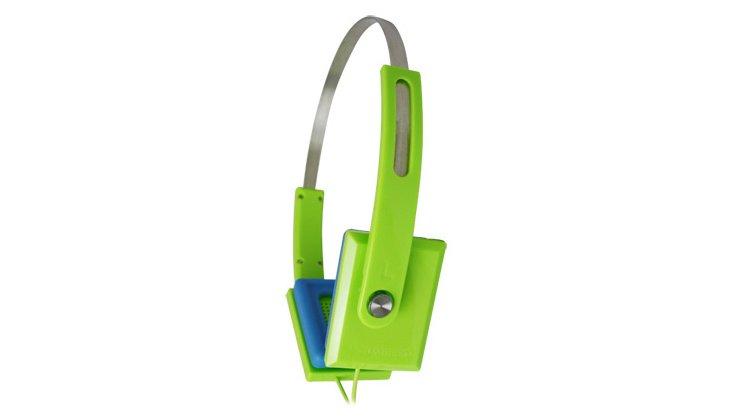 ZHP-008 Headphones, Lime Yellow