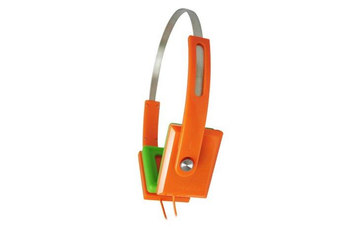 ZHP-008 Headphones, Orange