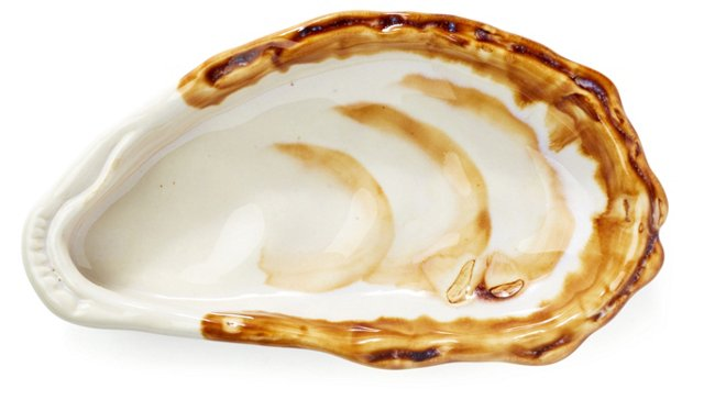 S/4 Beachcomber Oyster Dishes