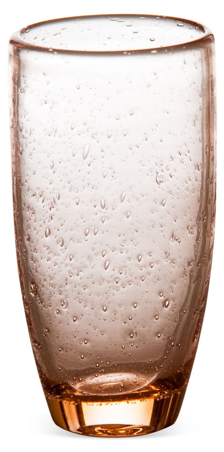 S/4 Bubble Tumblers, Pink