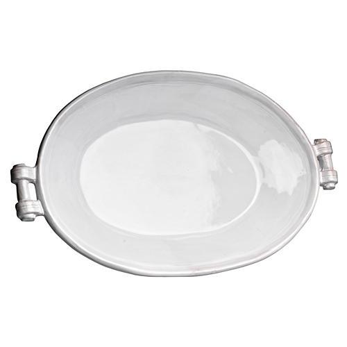 Casa Bianca Oval Platter