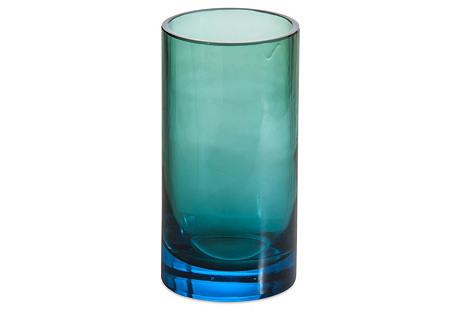 Ombré Tumbler, Blue & Green