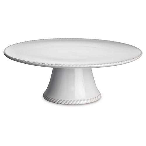 Charlot French Cake Stand, White