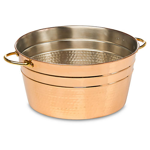 Element Ice Bucket, Copper