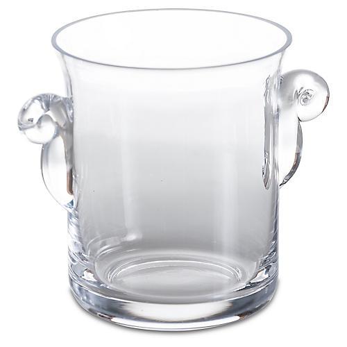 Loft Ice Bucket, Clear