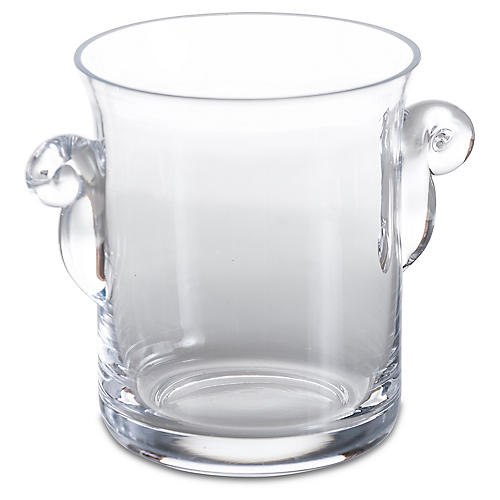 Loft Ice Bucket, Clear