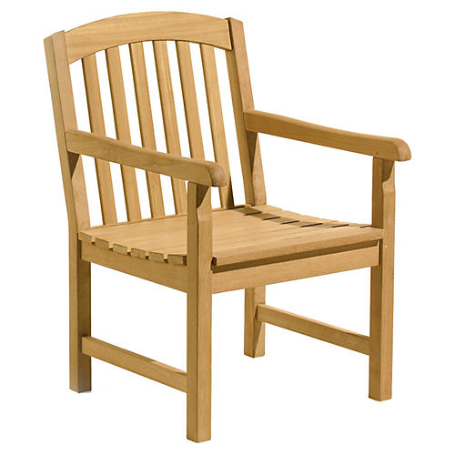 Kelley Dining Armchair, Natural