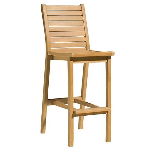 Quogue Bar Chair, Natural