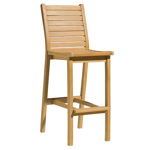 Quogue Bar Chair, Natural