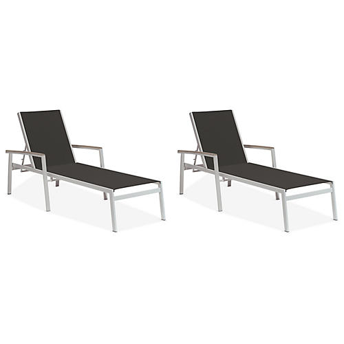 S/2 Travira Chaise, Ninja Black