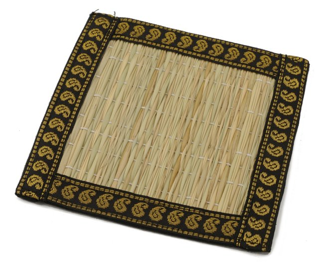 S/6 Natural Elegance Coasters