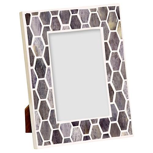 Gramercy Frame, Gray/White