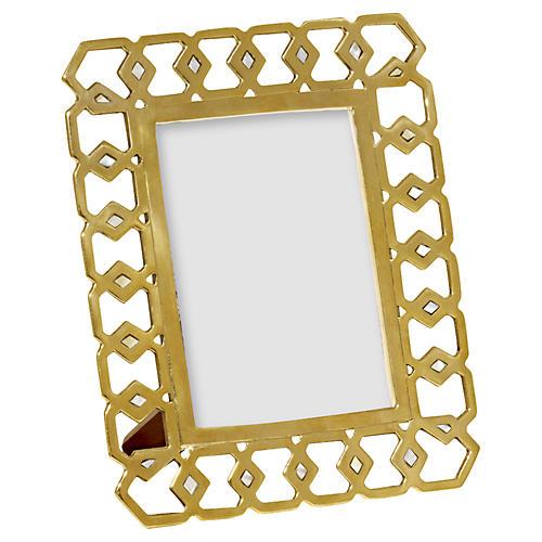 "5"" x 7"" Monroe Frame, Gold"