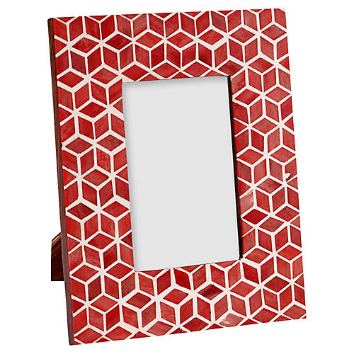 Starshine Frame, Marsala Red