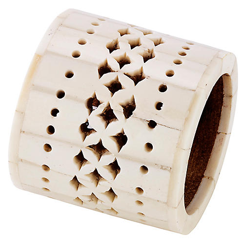 Chantilly Napkin Ring, Ivory