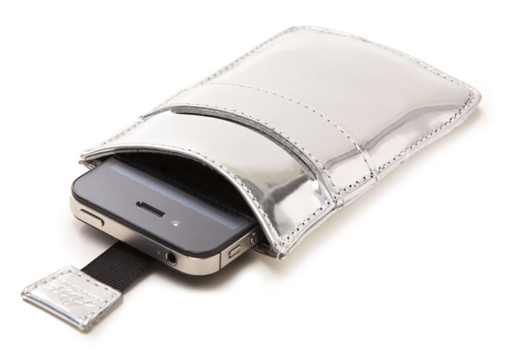 iPhone Sleeve, Silver