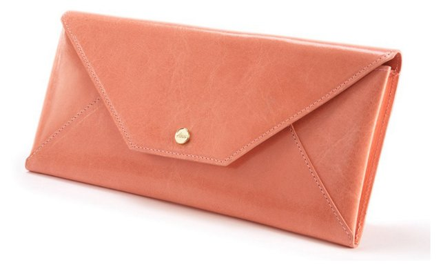 Travel Envelope, Pale Coral