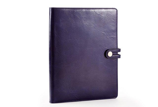 Cowhide iPad Case, Navy