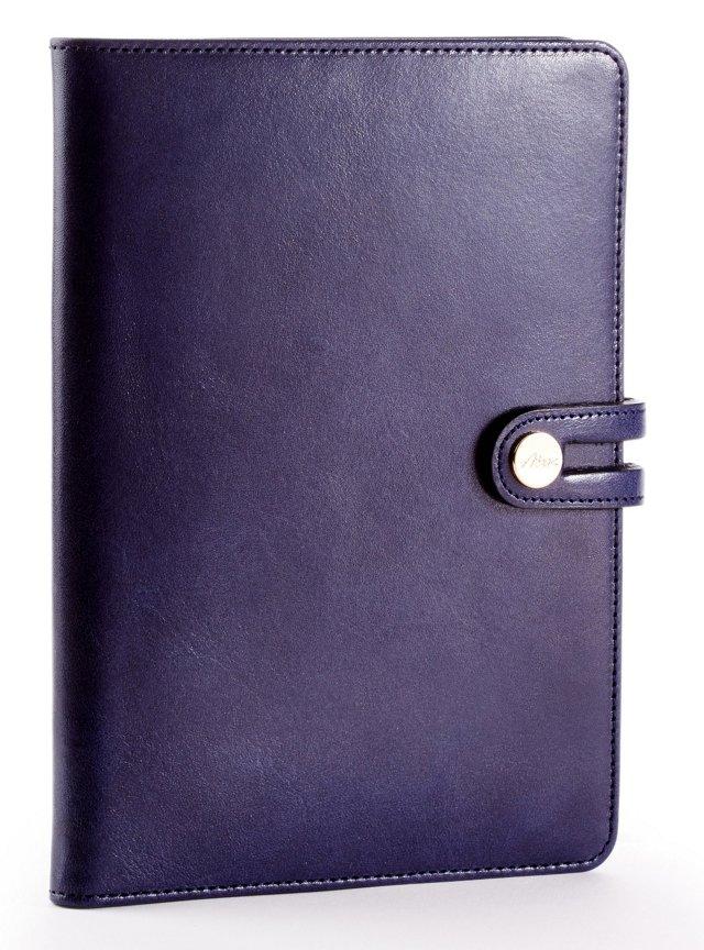 Cowhide iPad Mini Case, Navy