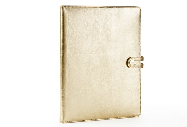 iPad Case w/ Easel, Gold