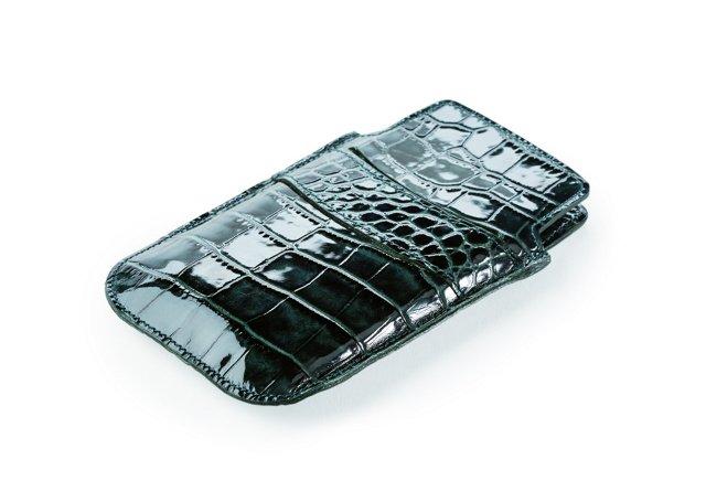 Embossed iPhone Sleeve, Dark Teal